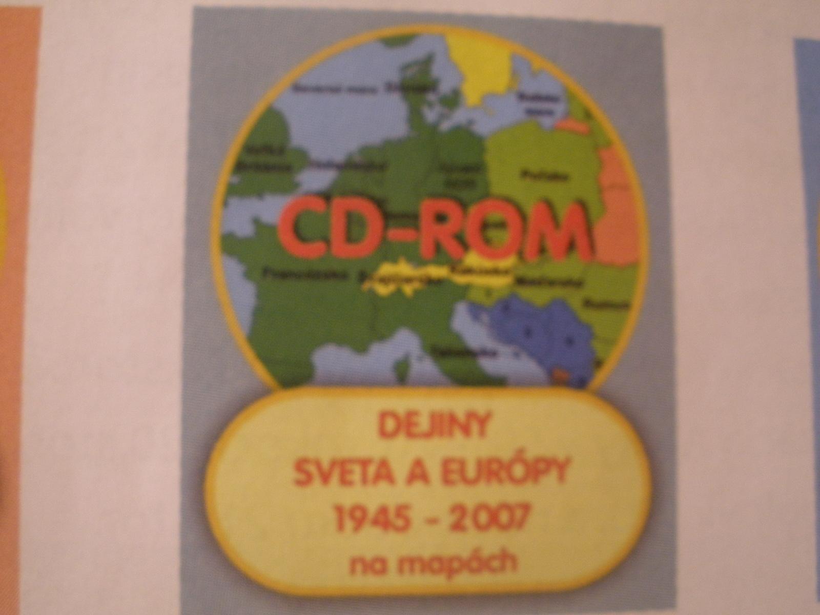 Dejiny Sveta aEurópy v20.stor. na mapách II. (1945-2007)