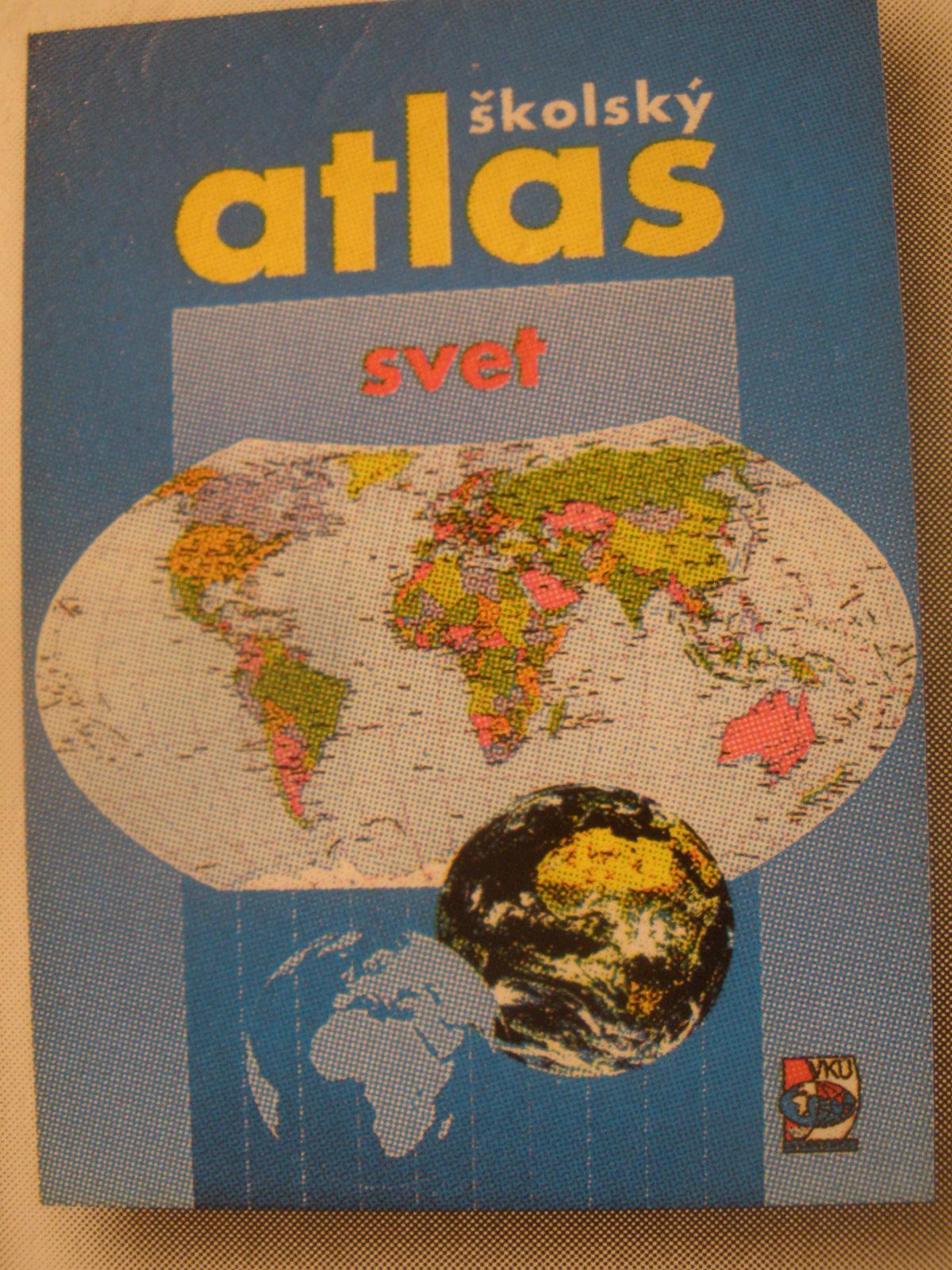 Atlas sveta = žiacky