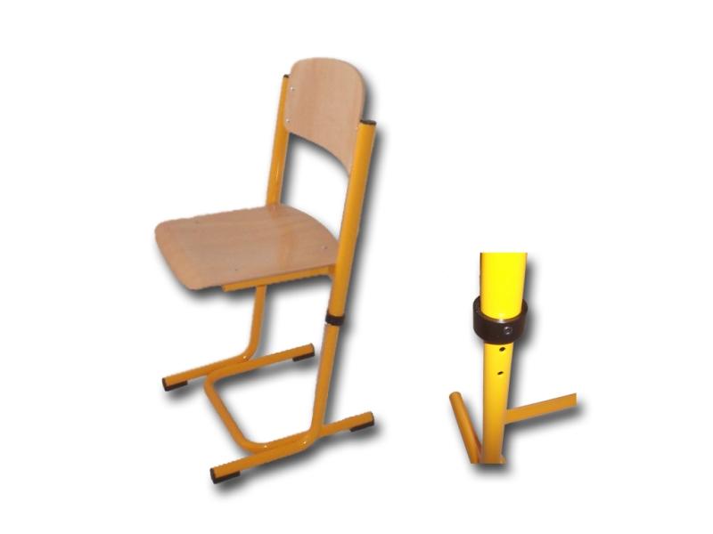 Školská stolička Karst,rastúca č.3-4