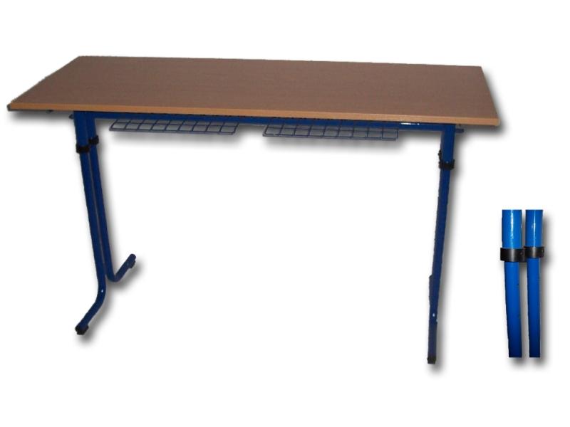 Školský stôl dvojmiestny  Karst rastúci č.5-6
