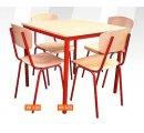 Jedálenský stôl  4miestny 75x75x76cm, štvorcový