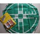Textilná križovatka + dopravné značky