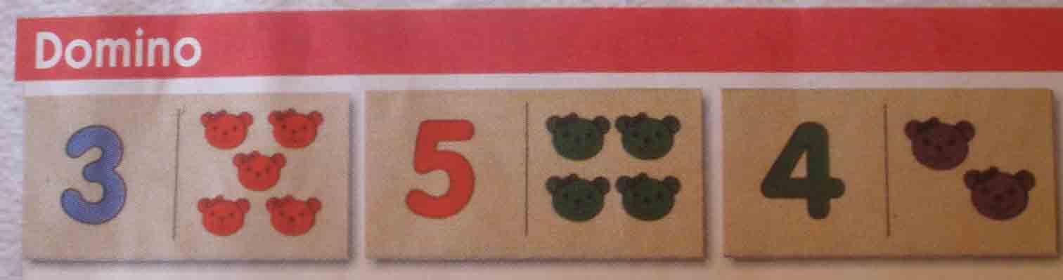 Domino číselné D007
