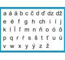 Malé tlačené písmená, obrazy