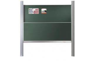 Pylónová tabuľa D 41,400x100x2cm,biele alebo zelené s mag.a keramickým povrchom
