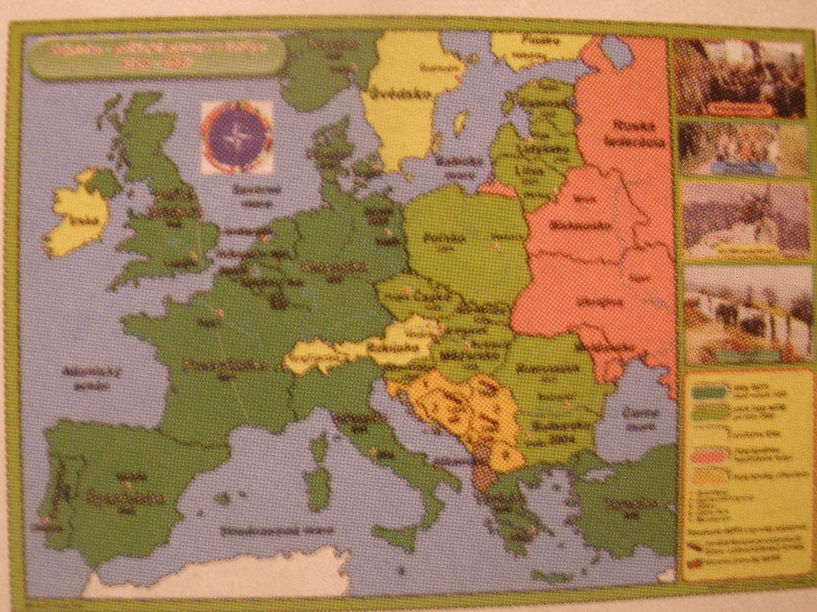 Vojensko-politické pomery vEurópe 1989 - 2007