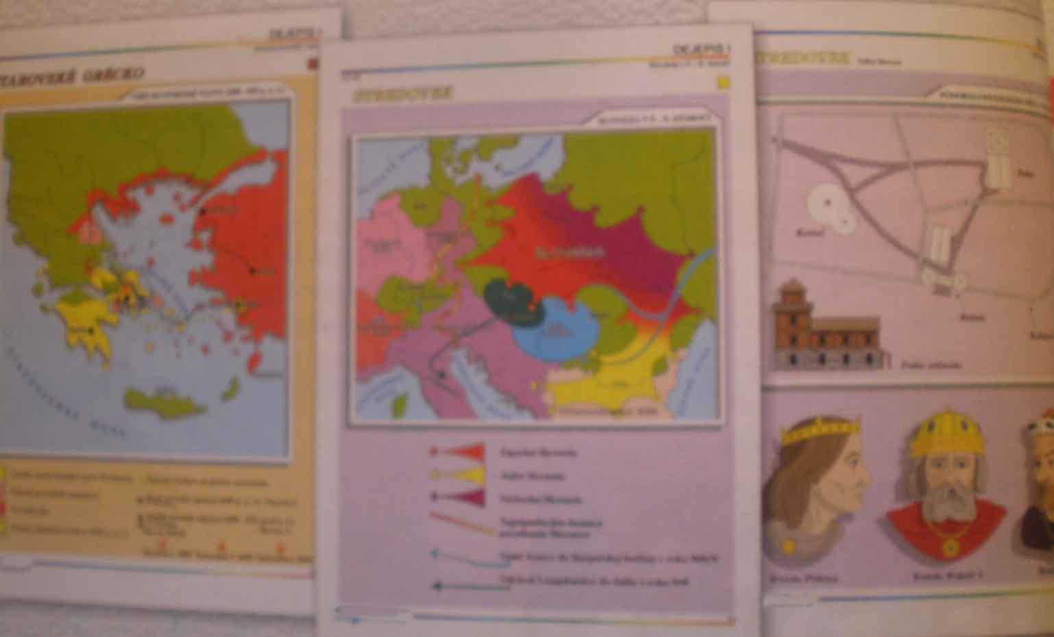 Dejepis,  starovek a ranný stredovek = 30ks