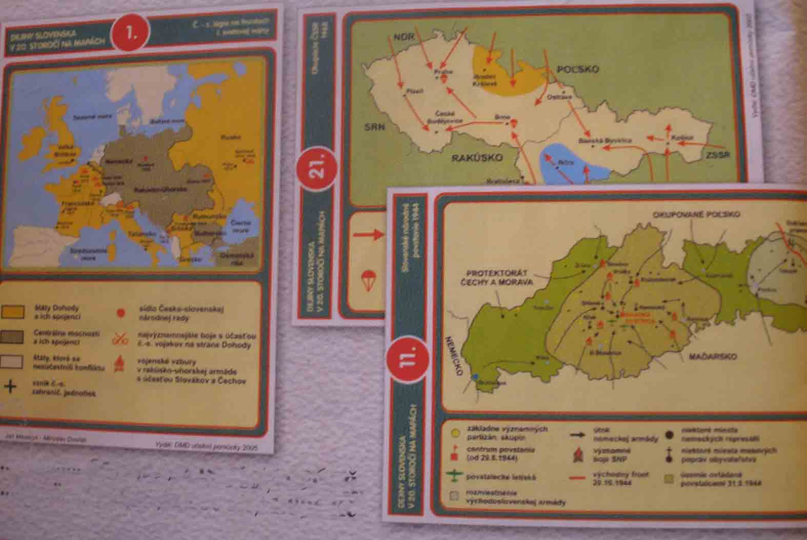 Slovenské dejiny 20. st. (1914-1993) - fólie