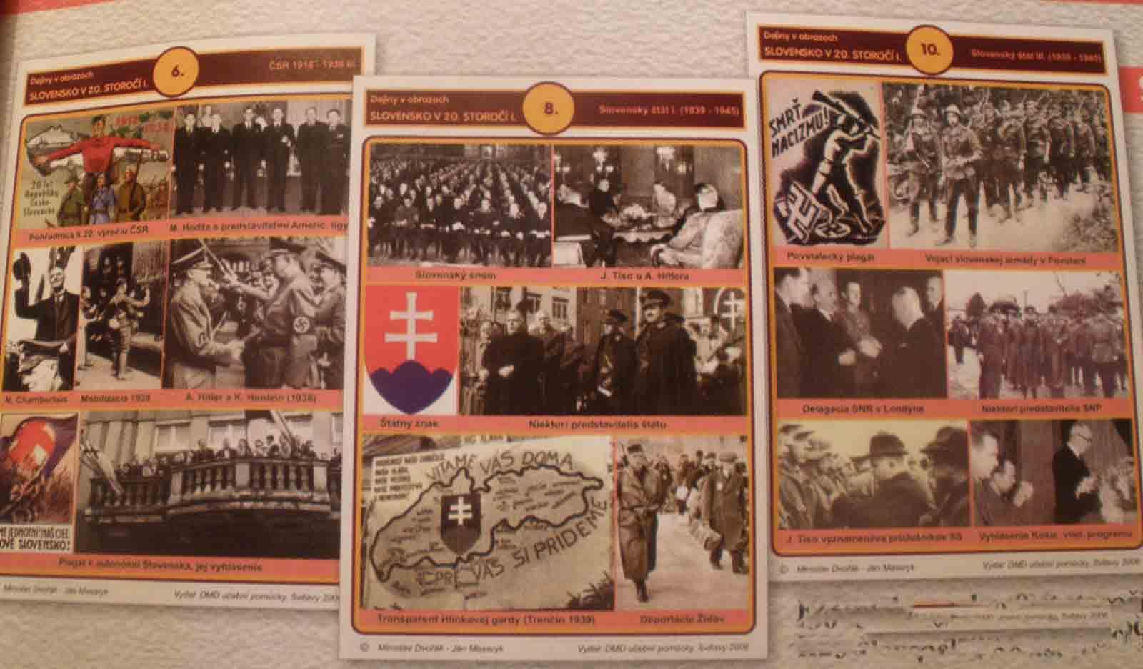 Slovenské dejiny 20. st. (1914-1993) – kart. obrazy