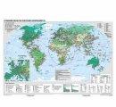 Svet - hospodárska mapa, priemysel