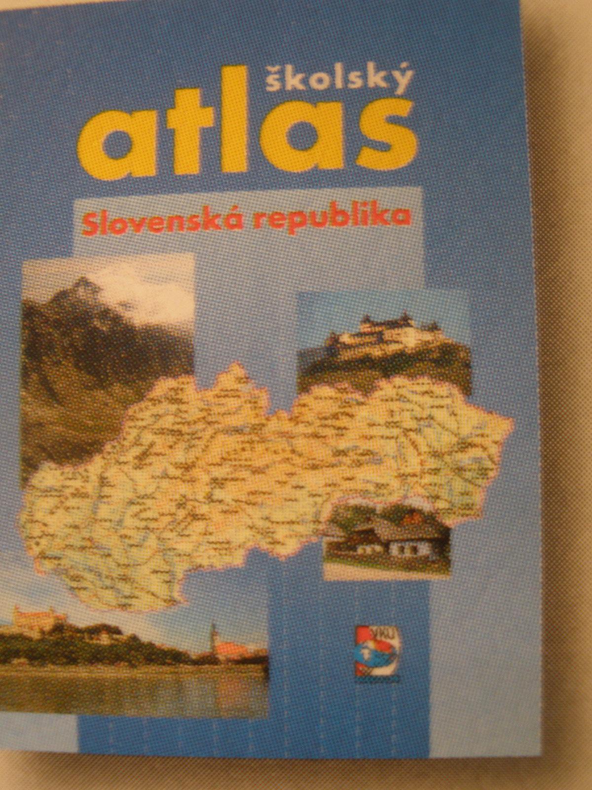 Školský atlas Slovenská republika