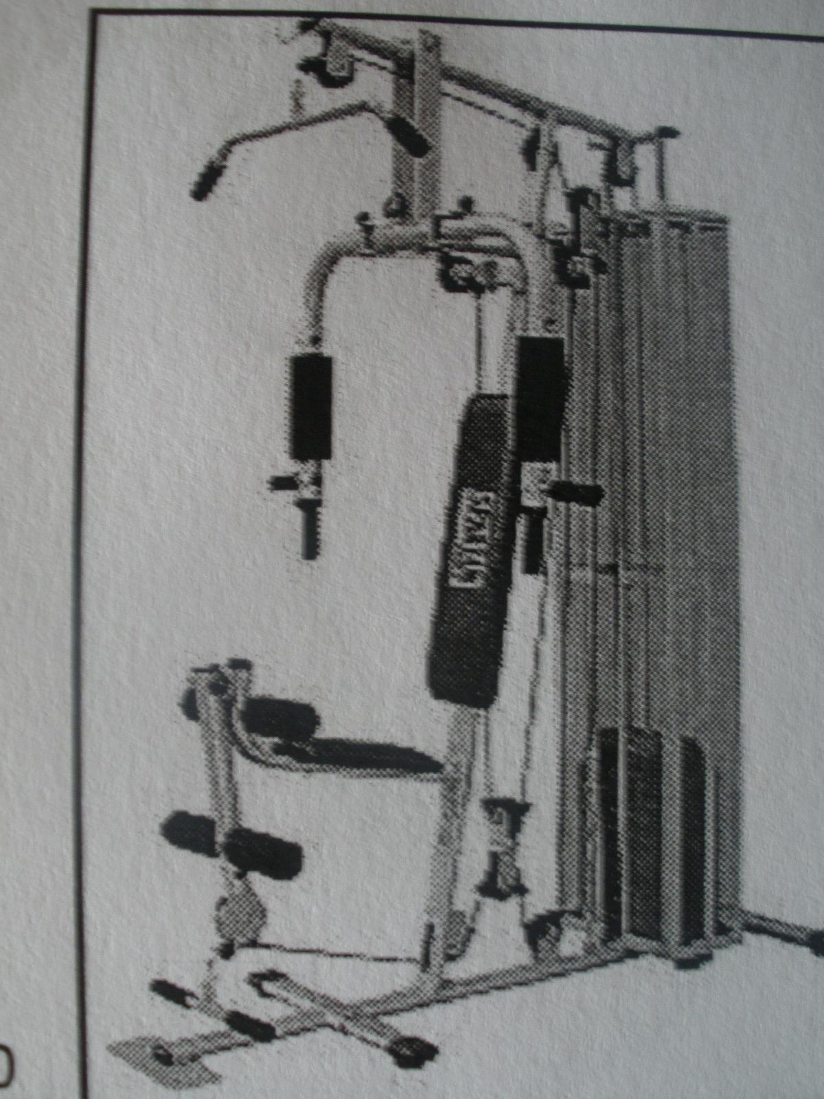 Multifunkční posilovací stroj Megagym (10 funkcií)