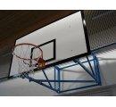Basketbalová konštrukcia pevná, interiér, vysadenie od 1,8 m do 3,5 m