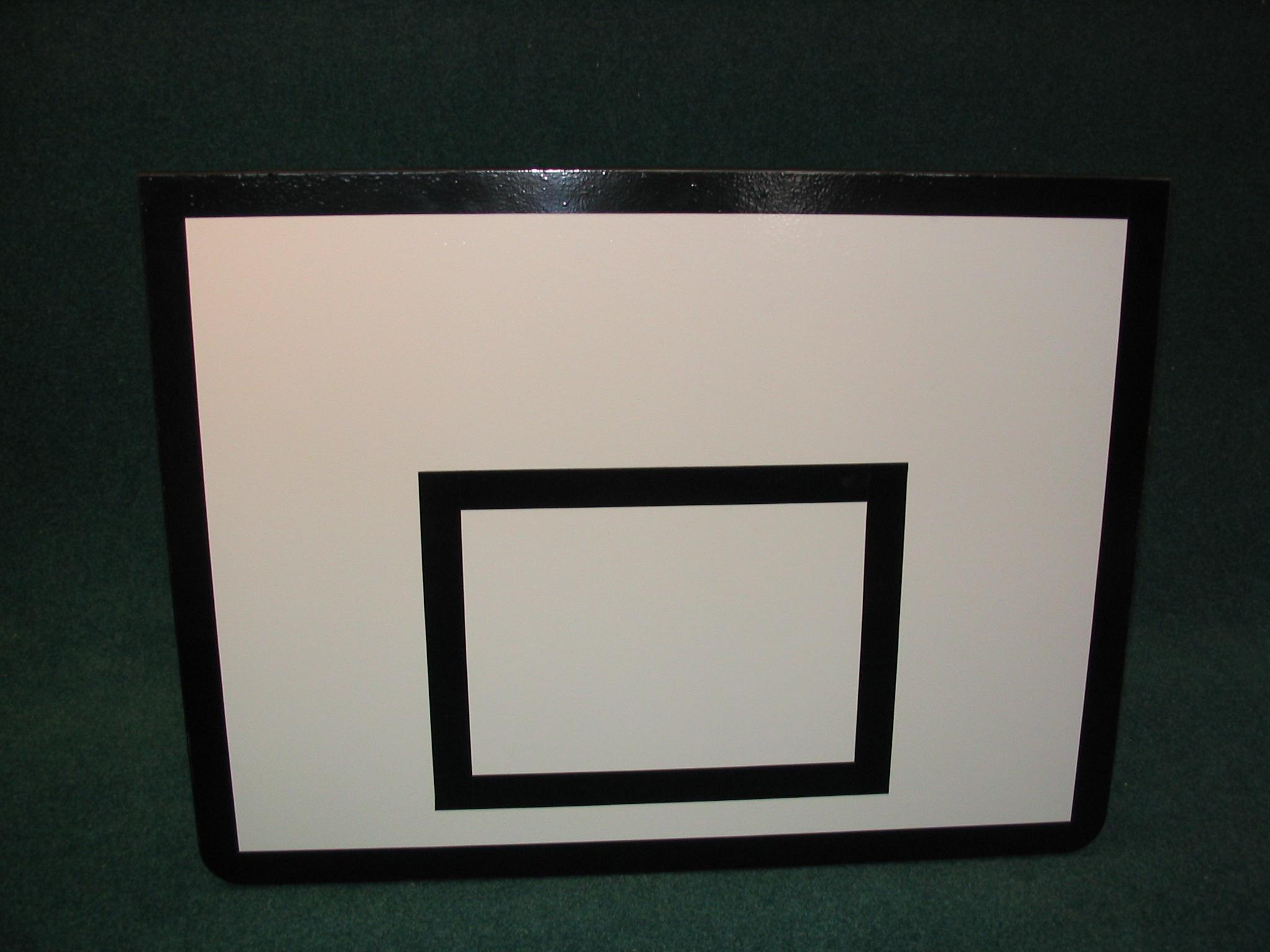 Basketbalová doska = 120 x 90 cm, vnútorná