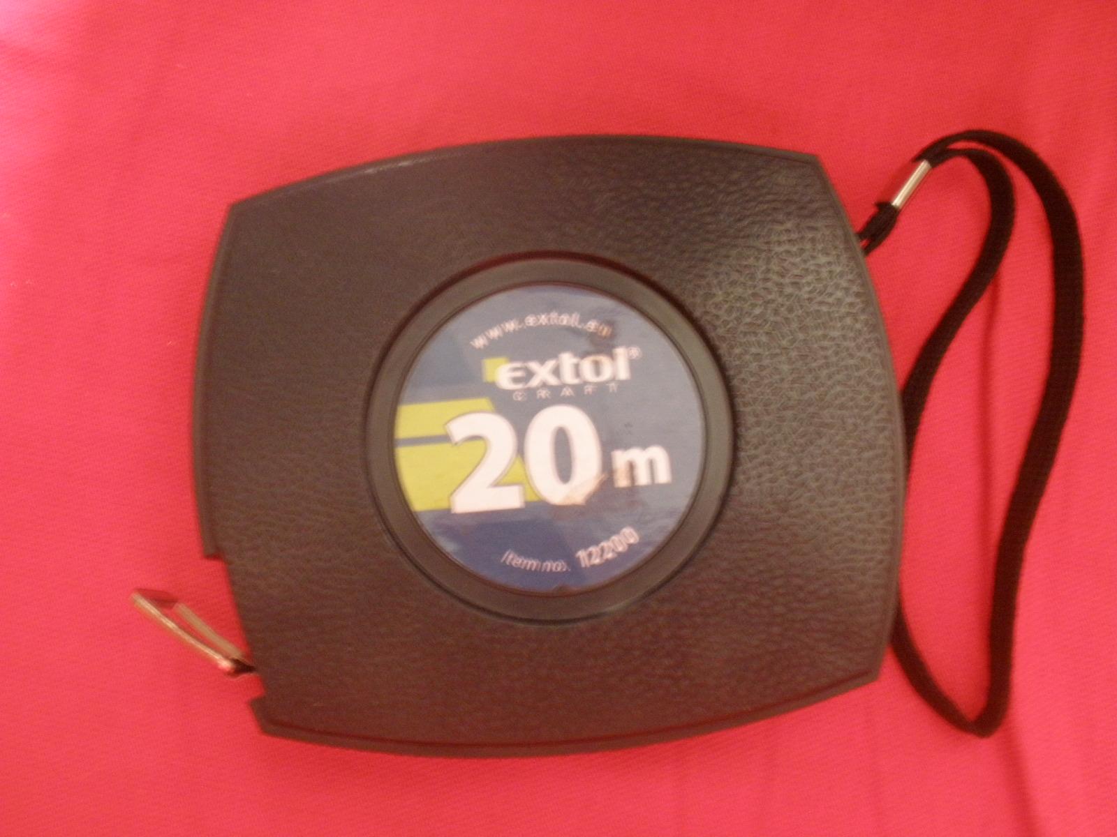 Meracie pásmo = 20 m, kovové