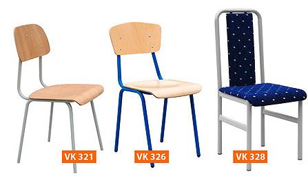 Školská stolička Štandard, jedálenská
