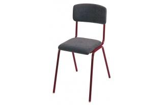 Učitelská stolička Klasic, čalúnená