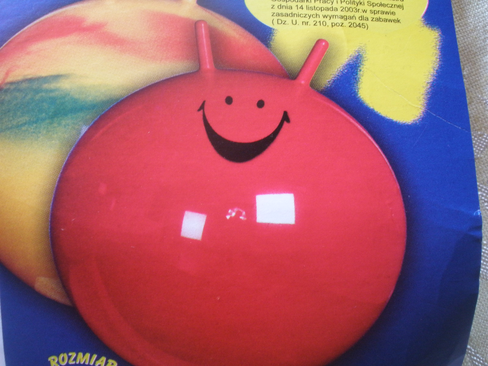 Skákacia lopta sušami priemer 65 cm