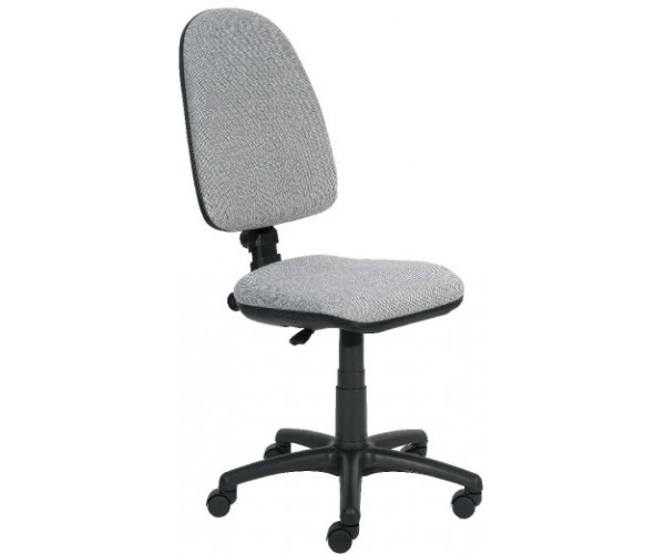 Otáčacia stolička, 5ramenný podstavec, čalúnená
