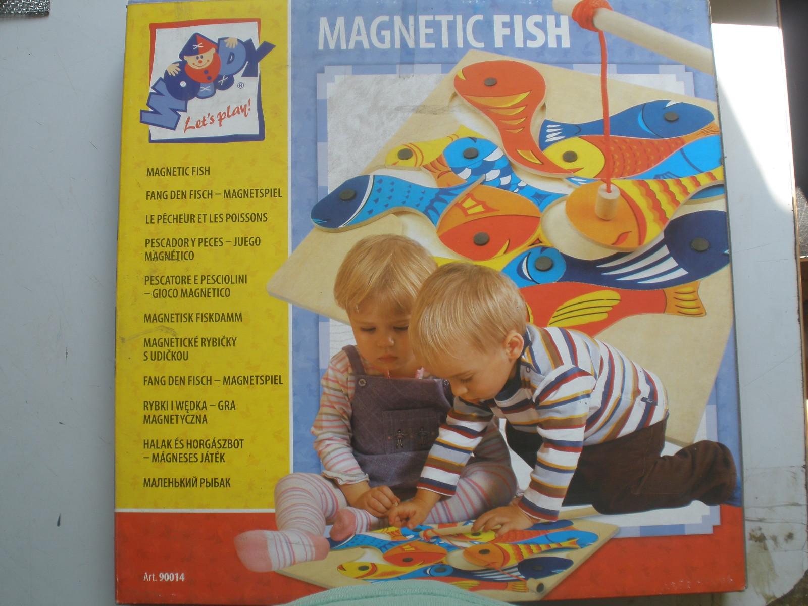 Rybičky sudičkou, magnetická hra AKC IA ! ! !