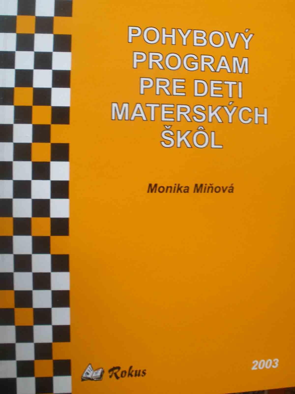 Pohybový program pre deti MŠ