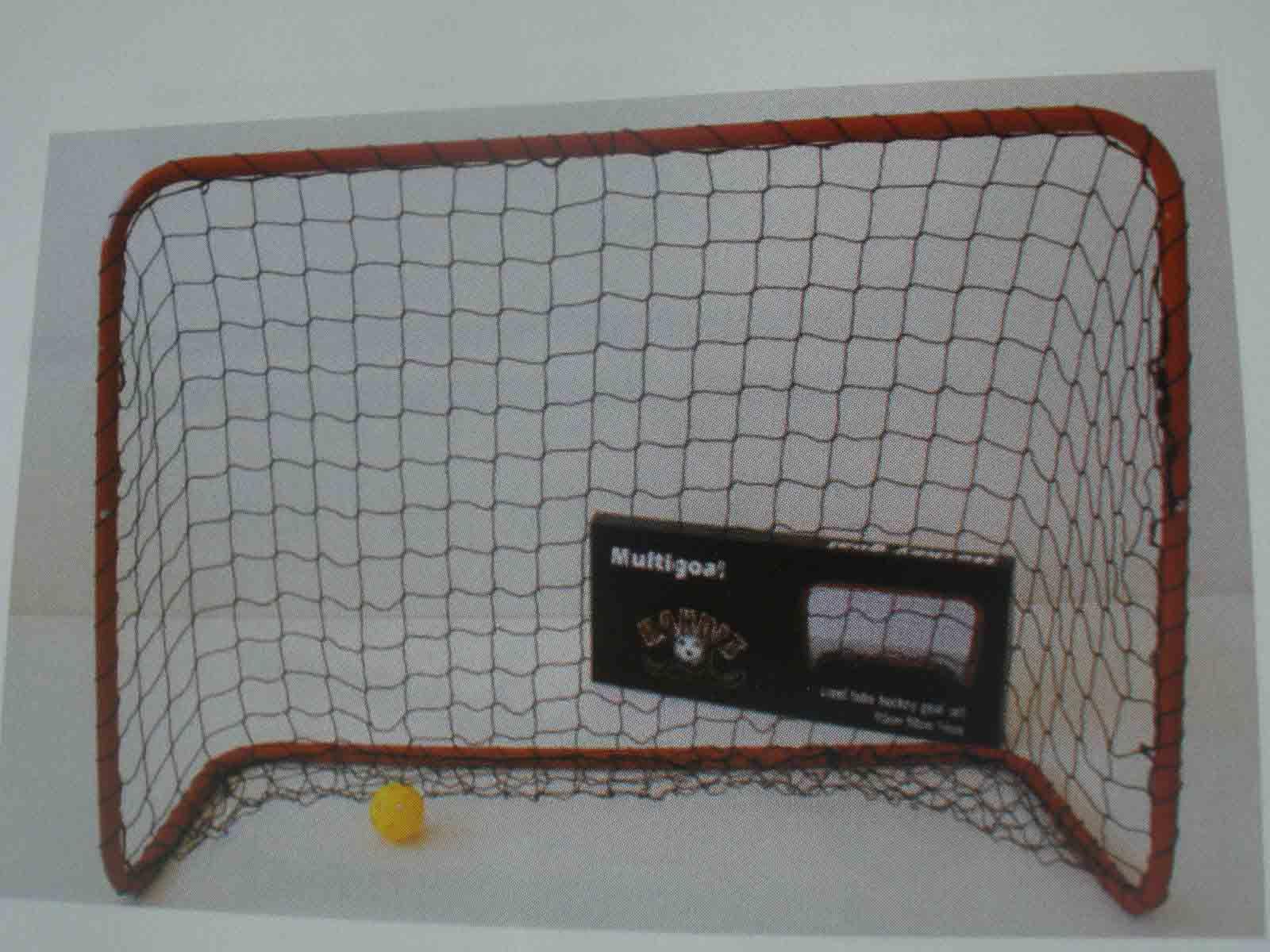Florbalová bránka, kov 90 x 60 cm so sieťou