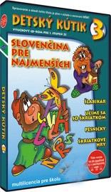 TS Detský kútik 3 - Slovenčina pre najmenších - Multi