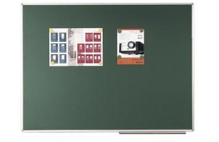 Keramic Štandard-zelená, magnetické s keramickým povrchom,popisovatelné kriedou 400x120 cm