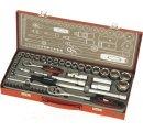 Súprava nástrčných kľúčov 50-dielna