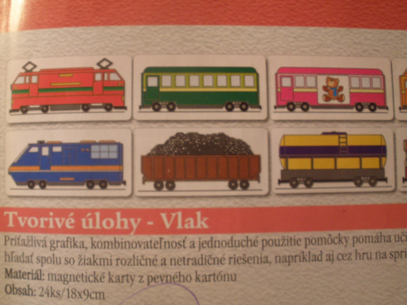 Riešime problémové úlohy - Vlak