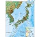 Japonsko a Kórea - všeobecnogeografická, angl.