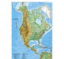 Severná Amerika - všeobecnogeografická 160x120cm