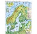 Severná Európa všeobecnogeografická/hospodárska
