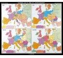 Európa v 19. a 20. storočí-historická mapa