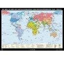 Svet po 2. Svetovej vojne, 1945-1990,historická mapa