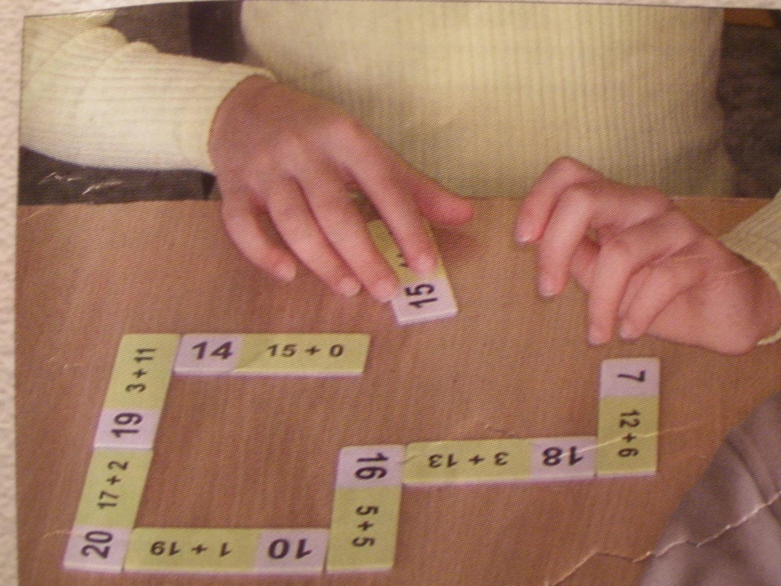 Dominobalík NUMERÁCIA I. do 20 (8 domín)
