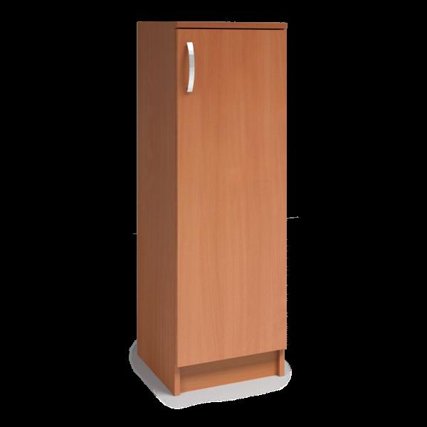 610013 Skrinka 3R policová dvierka 3D Ľ,P úzka, 122 x 40 x 40 cm