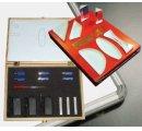 Laserová optika - súprava, so zdrojom svetla (3 ks)