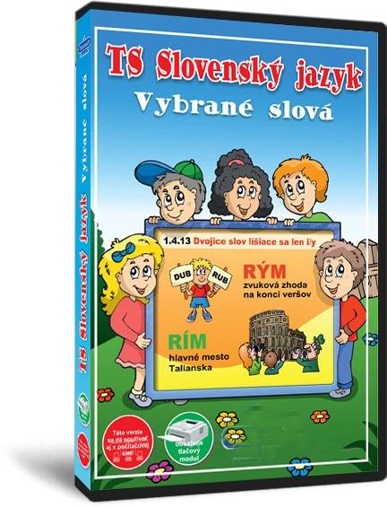 TS Slovenský jazyk – Vybrané slová - NOVINKA