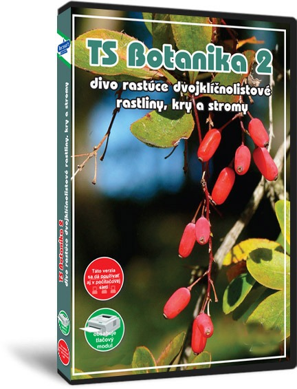 TS Botanika 2 - Divo rastúce dvojklíčnolisté byliny, stromy, kry