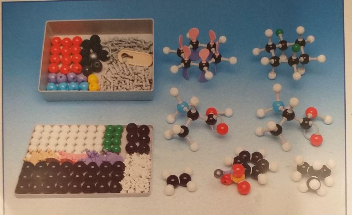 Kompaktná molekulová stavebnica (demo)