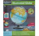 Globus so zvieratkami kontinentov