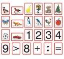 Magnetická číselná - znaková súprava, s figurkami