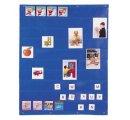 Univerzálny zásobník na obrázky, karty s písmenkami