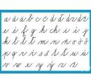Malé písané písmená, obrazy