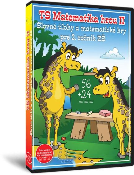 TS Matematika hrou 2 – Slovné úlohy a matematické hry pre 2. ročník ZŠ - NOVINKA