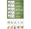 Abeceda na kartách tlačená + obrázky