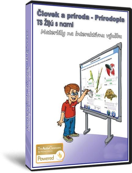 TS Prírodopis 2 - Žijú s nami, verzia pre interaktívne tabule