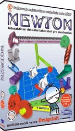 Newton 2 - Virtuálne laboratórium - jednoduché mechanizmy