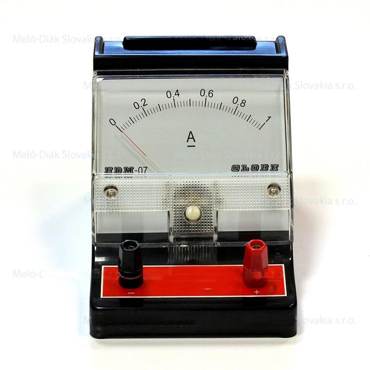 Žiacky ampérmeter 0-1A/20mA